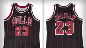 Michael Jordan Game-Worn '97 Bulls Uniform Sells for Record Price at Auction