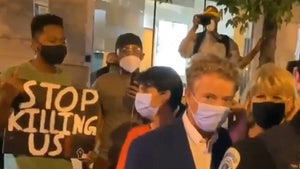 Sen. Rand Paul Surrounded by D.C. Protesters Over Breonna Taylor's Killing