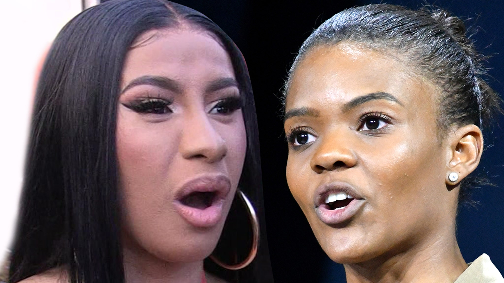 Cardi B And Candace Owens Feud Over Wap Politics Police Brutality