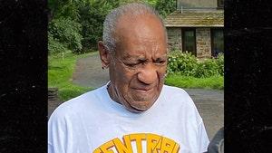 Bill Cosby Pisses Off High School Class Prez With Prison Release Attire