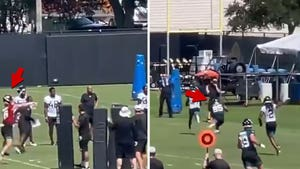 Tim Tebow Catches TD Pass From Trevor Lawrence At Jags Practice, Glimpse Into Future?!