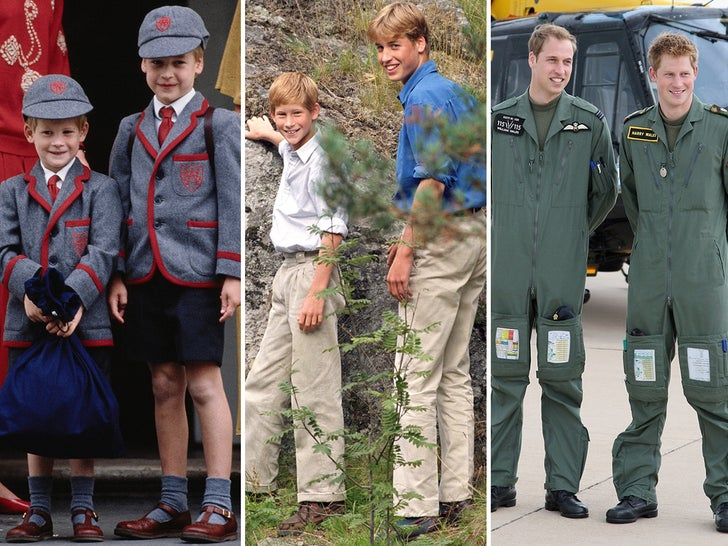 Prince Harry and William -- Bros For Life