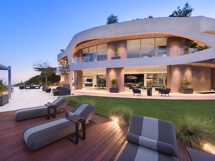 Travis Scott's Brentwood Mansion