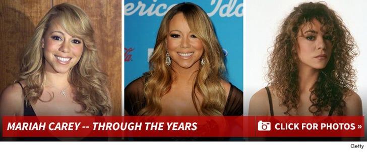 Mariah Carey -- Through The Years
