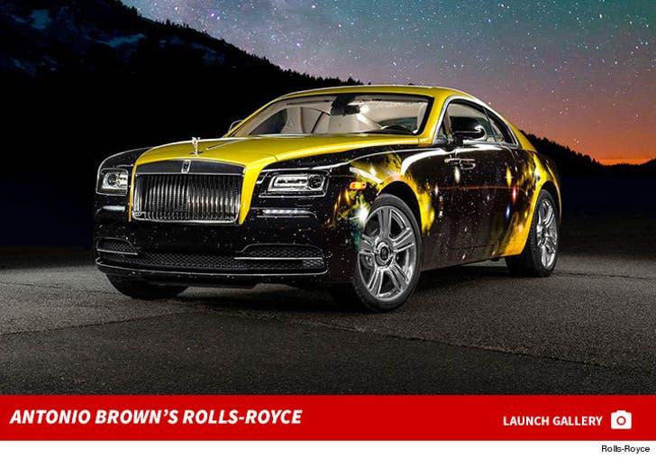 Antonio Brown's New Rolls-Royce