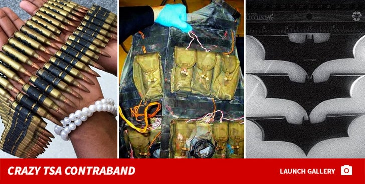 TSA's Craziest Confiscated Treasures