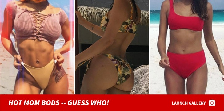 Hot Mom Bods -- Guess Who!
