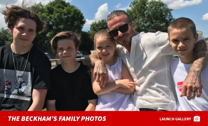 Beckham Family Photos