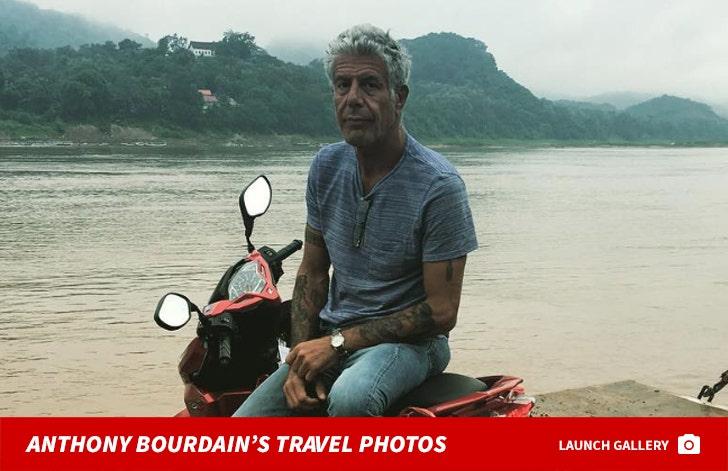Anthony Bourdain Traveling The World