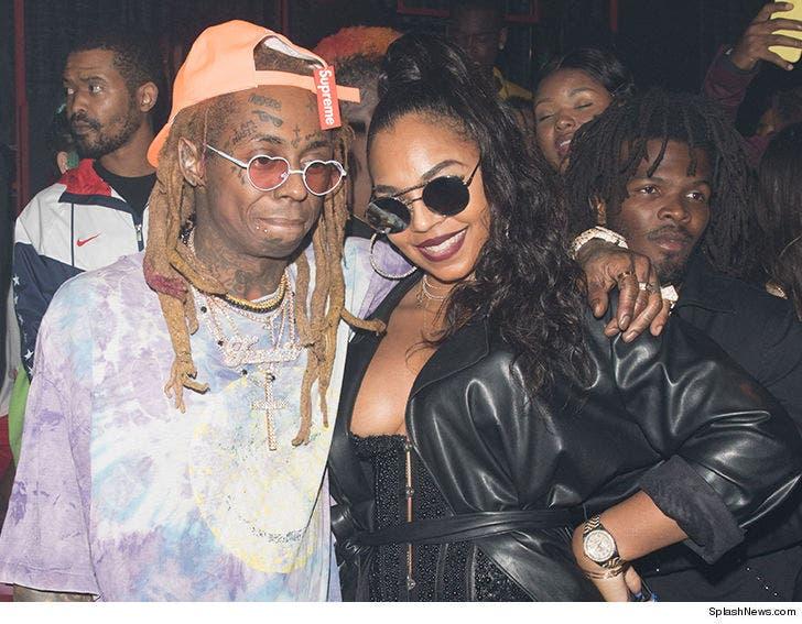 Amazing Tiffany Haddish Hits Up Lil Waynes Bday Bash After Carter V Drops Personalised Birthday Cards Petedlily Jamesorg