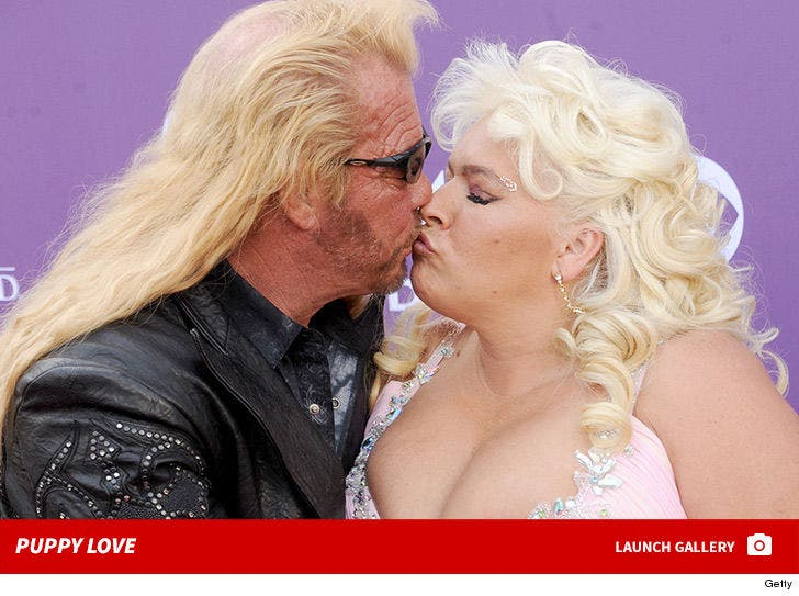 Dog the Bounty Hunter and Beth -- Puppy Love