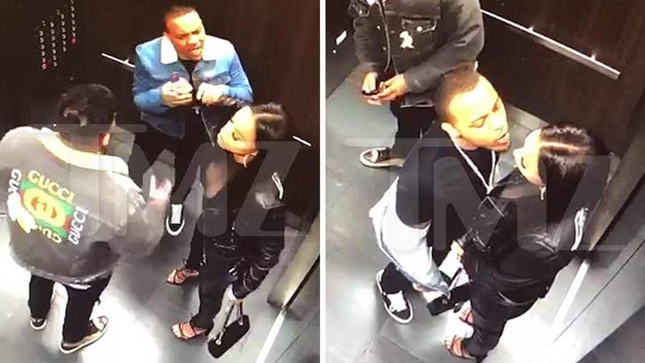 Bow Wow Surveillance Video From Fight With GF Shows His