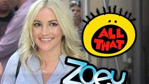 Jamie Lynn Spears and 'Zoey 101' Alums On Set with 'All That'