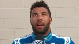 Bubba Wallace Unloads On NASCAR's Michael McDowell After Wreck, 'What A Joke'