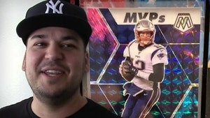 Rob Kardashian Hits Tom Brady Football Card Jackpot, Could Be Worth $250k!