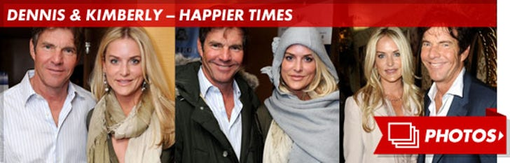 Dennis and Kimberly Quaid -- Happier Times