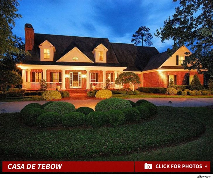 Tim Tebow Buys $1.4 Million Pad