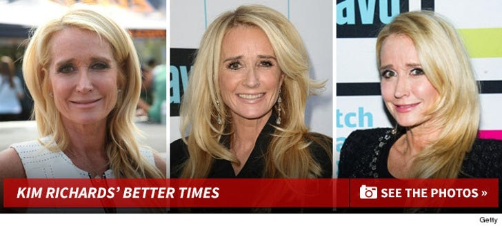 Kim Richards -- Through The Years