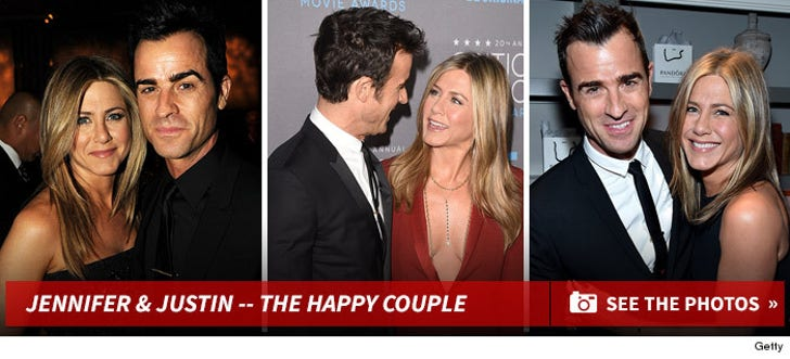 Jennifer Aniston and Justin Theroux Together