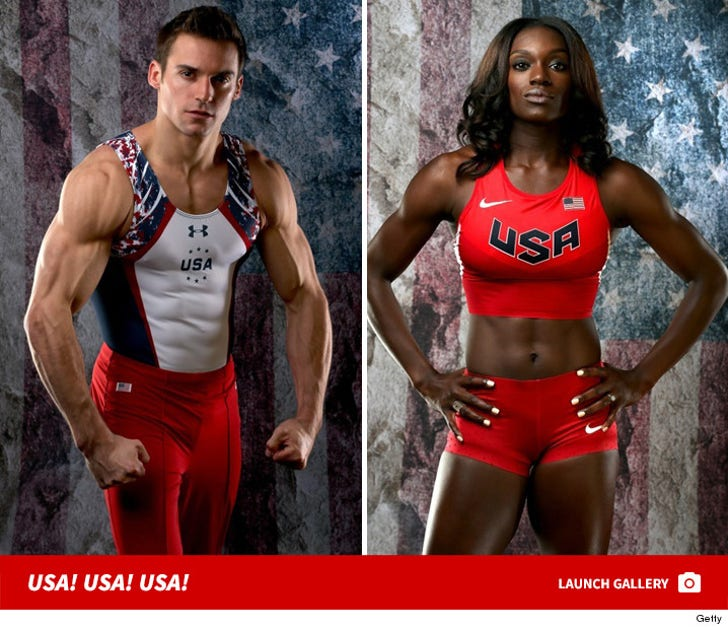 2016 USA Olympic Team -- Ripped for Rio