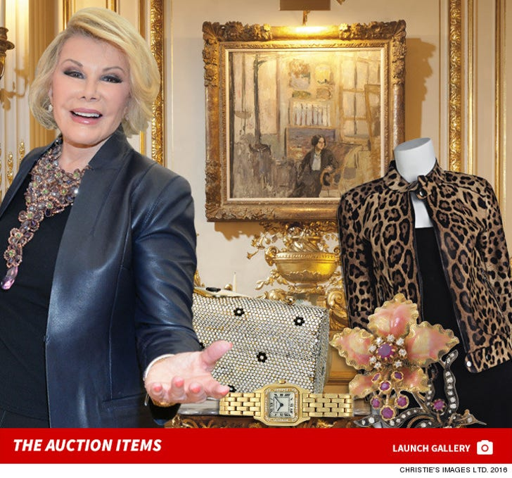 Joan Rivers Auction Items