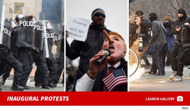 Trump Protesters in Washington D.C.