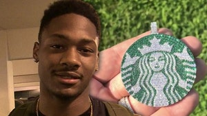 NFL's Stefon Diggs Buys Venti Starbucks Diamond Chain, We're Open All Day!