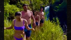Aaron Rodgers In Shirtless Hawaiian Hiking Couple's Adventure with Miles Teller!