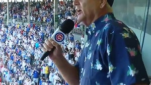 Bill Murray Leads 'Take Me Out' For First Full-Capacity Game At Wrigley Since COVID-19