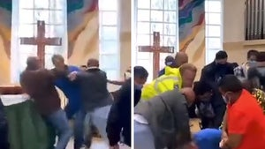 Brawl Breaks Out at Church After Trespassing Man Approaches Altar