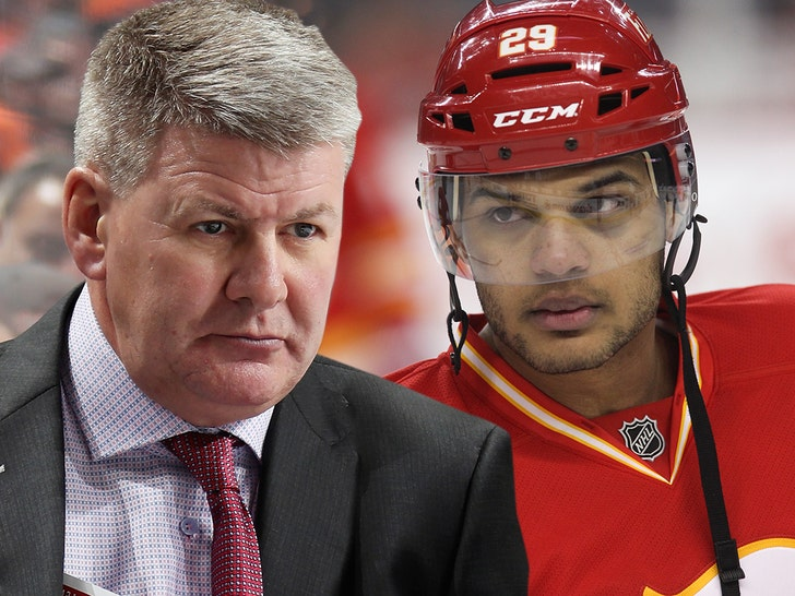 Flames' Bill Peters Accused Of Calling Black Player N-Word, NHL Investigating