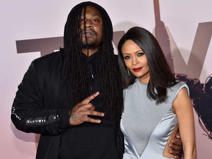 "Marshawn Lynch -- HBO Premiere of ""Westworld"""