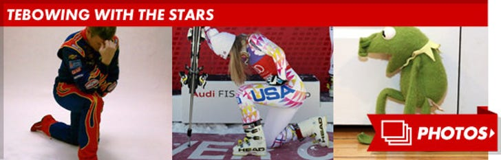 Tebowing With The Stars