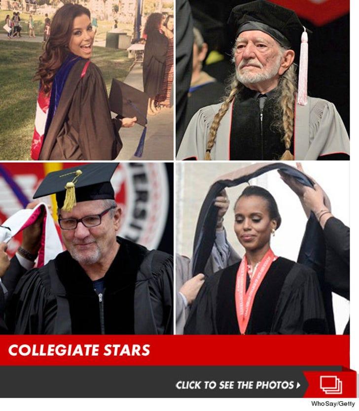 Celebrity Caps & Gowns -- Congratulations!