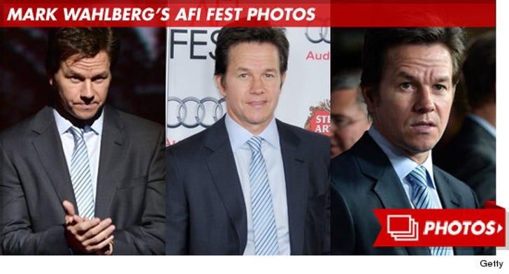 Mark Wahlberg's AFI Fest Photos