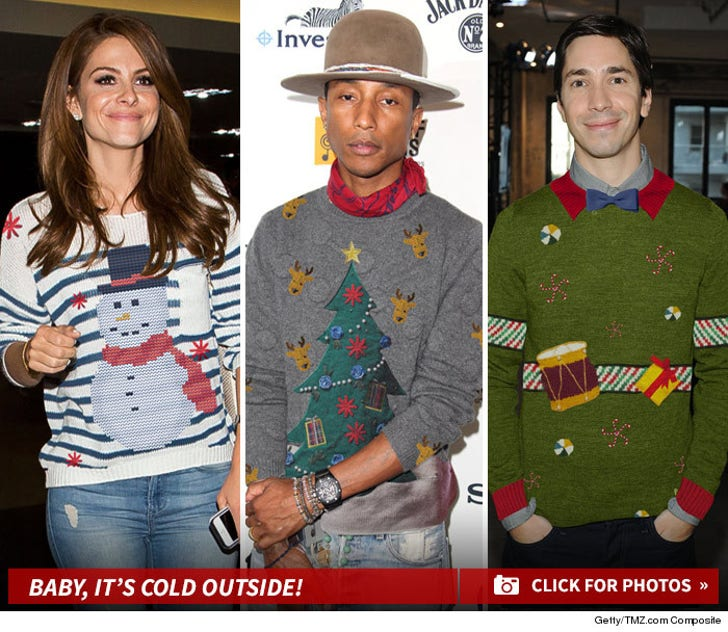 Celebrity Sweaters -- The Holiday Hook-Up!