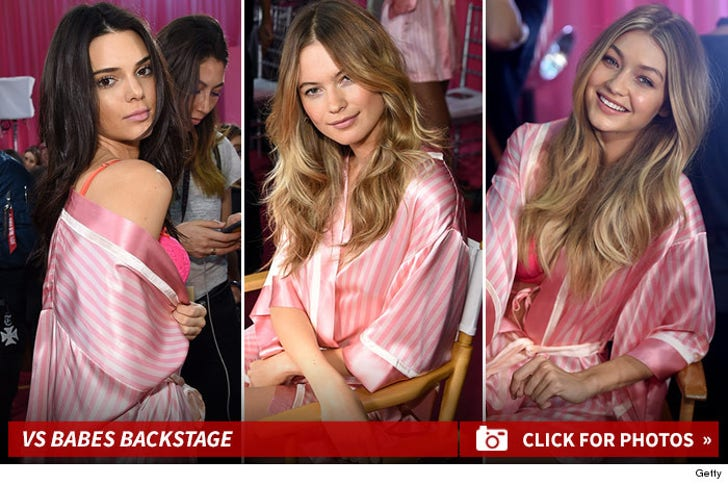 Victoria's Secret Fashion Show -- Babes Backstage