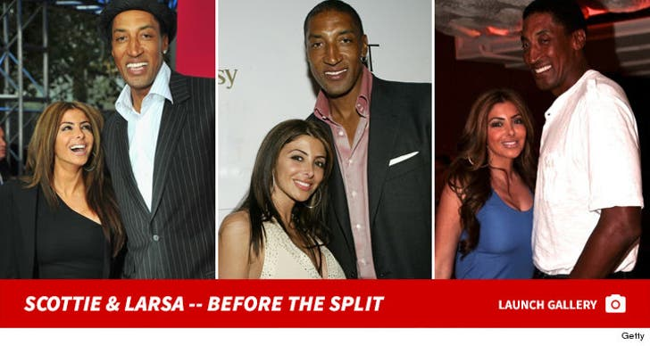 Scottie and Larsa Pippen -- Together Photos
