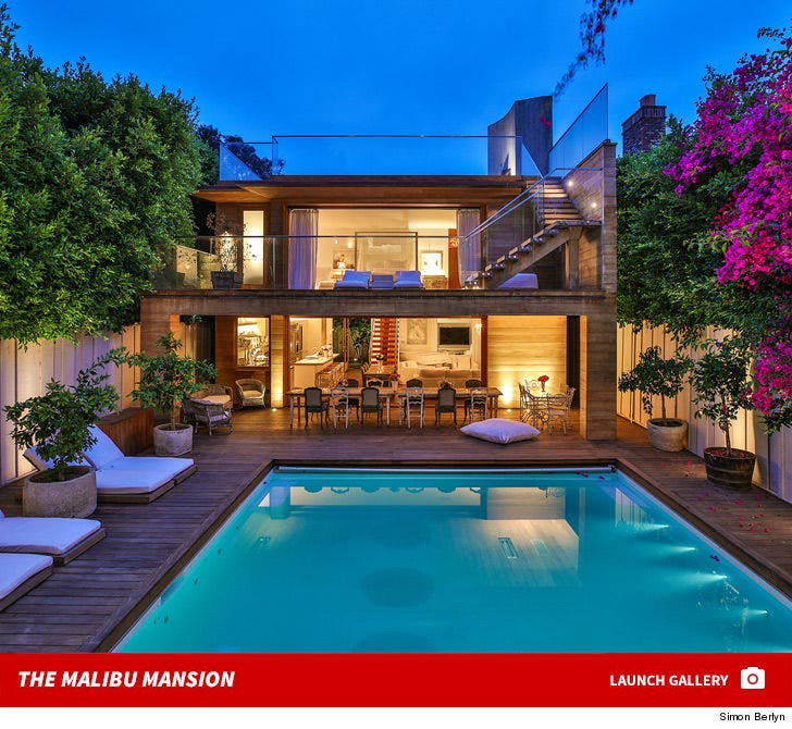 Pam Anderson's Malibu Home -- For Lease!