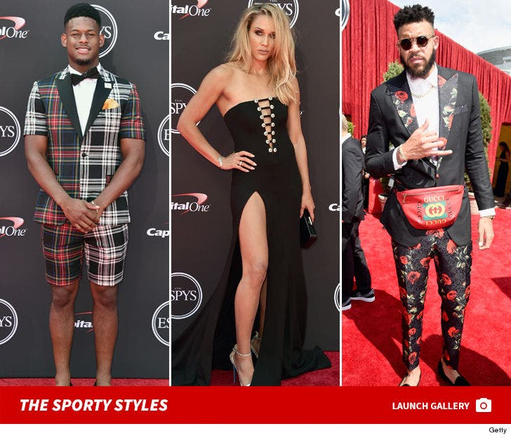 2018 ESPYs Fashion Photos