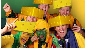 Green Bay -- The Cheese Head Biz is BOOMING