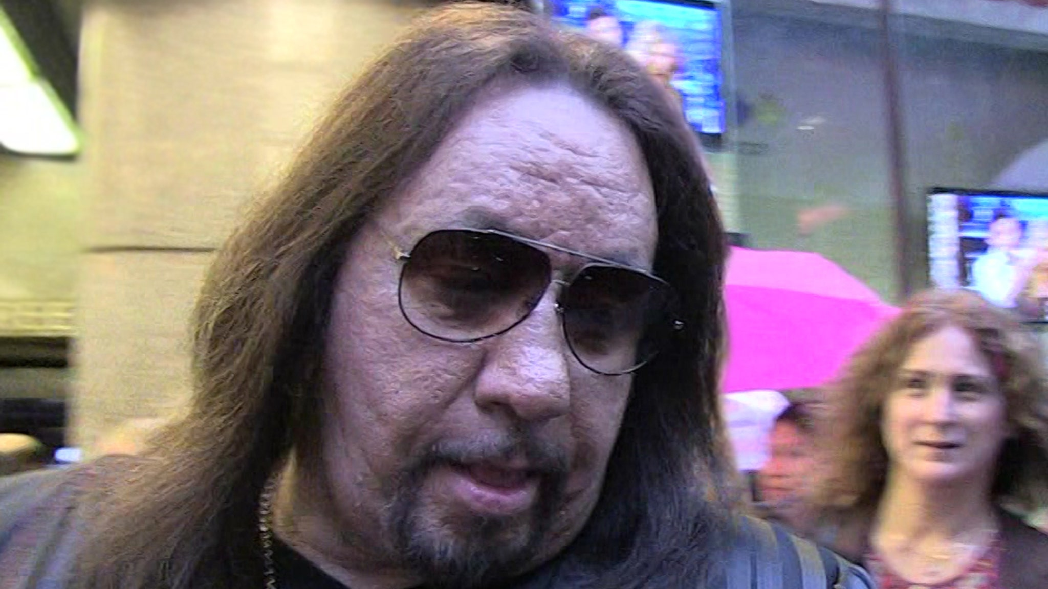 Ace Frehley's GF Claims KISS Rocker Ambushed Home, Left Her High and Dry