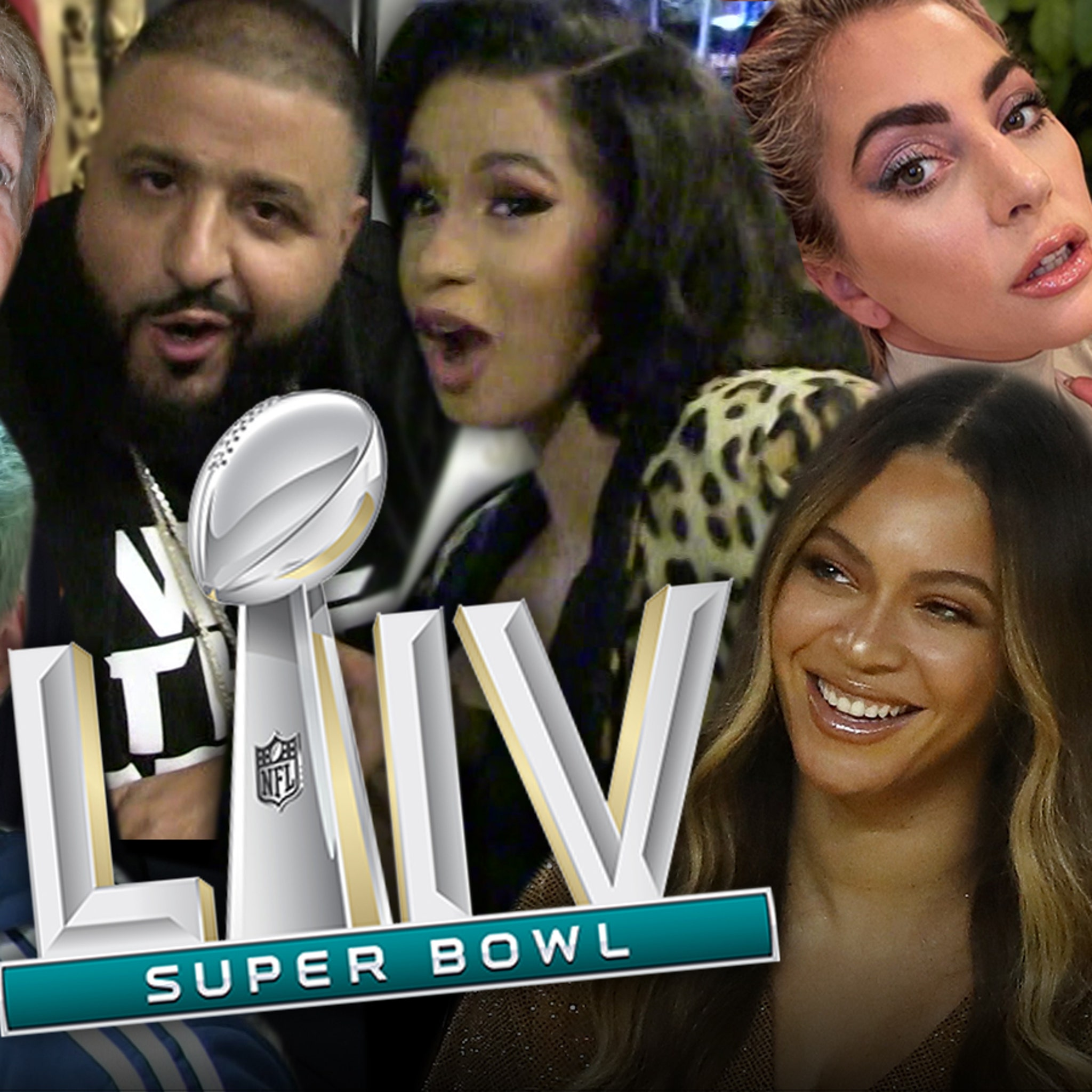 Celebs Going to Super Bowl Include Cardi B, Lady Gaga, Beyonce