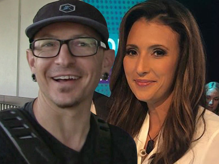 Chester Bennington's widow remarries on her wedding anniversary with the late rocker