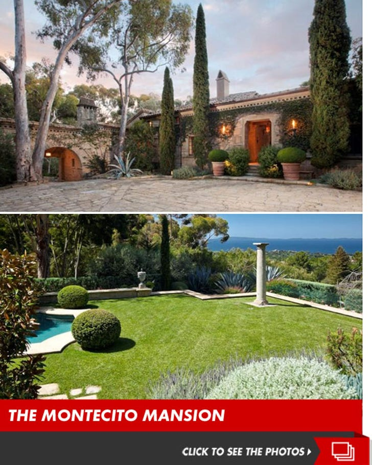 Ellen and Portia's New Montecito Mansion