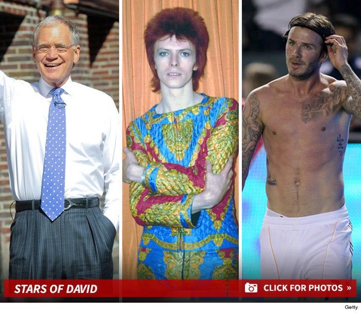 Hollywood Stars of David -- L'Chaim!