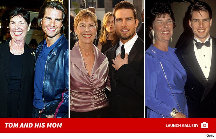 Tom Cruise and His Mom Mary