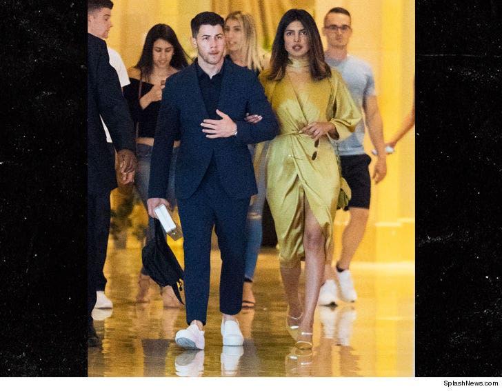 Priyanka Chopra Wedding.Nick Jonas Introduces Priyanka Chopra To The Family At A Wedding