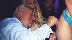 Roger Stone Makes Strip Club Appearance to Raise Cash for Defense