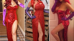 Sexy Jessica Rabbit Costumes -- Guess Who!